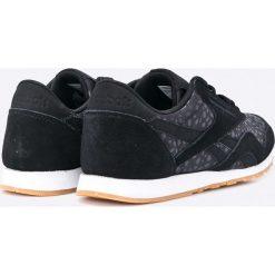 Reebok Classic - Buty Nylon Slim. Czarne obuwie sportowe damskie Reebok Classic, z gumy. W wyprzedaży za 179.90 zł.