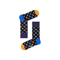 Skarpetki Happy Socks  BRI01-9001. Szare skarpety męskie Happy Socks, z bawełny. Za 24.43 zł.
