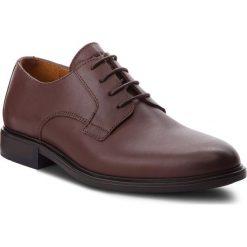 Półbuty TOMMY HILFIGER - Color Block Heel Leather Shoe FM0FM01616 Coffee 211. Brązowe eleganckie półbuty Tommy Hilfiger, z materiału. W wyprzedaży za 449.00 zł.