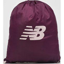 New Balance - Plecak. Brązowe plecaki damskie New Balance, z poliesteru. W wyprzedaży za 39.90 zł.