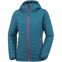Columbia Kurtka Damska Powder Lite Hooded Jacket Phoenix Blue Xs. Niebieskie kurtki sportowe damskie Columbia, na zimę. W wyprzedaży za 379.00 zł.