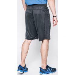 Adidas Performance - Szorty D2M 3S Short. Szare krótkie spodenki sportowe męskie adidas Performance, z dzianiny. W wyprzedaży za 119.90 zł.