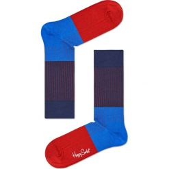 Happy Socks - Skarpety Rib. Czerwone skarpety męskie Happy Socks. W wyprzedaży za 29.90 zł.