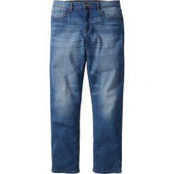 Dżinsy ze stretchem Classic Fit Straight bonprix niebieski. Niebieskie jeansy męskie bonprix. Za 109.99 zł.