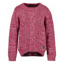 Blue Seven Sweter Z Dzianiny Dziewczęcy 110 Biały/Czerwony. Swetry dla dziewczynek marki bonprix. Za 69.00 zł.