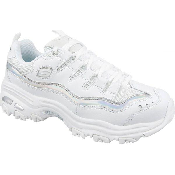 Buty Skechers D'Lites M 13160 WSL białe