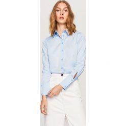 Koszula - Niebieski. Koszule damskie marki Reserved. W wyprzedaży za 69.99 zł.