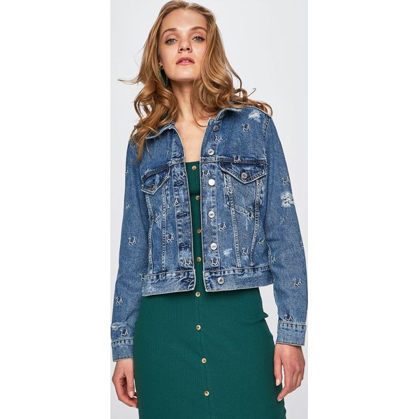 8ff2e46fdb40d Guess Jeans - Kurtka Leda - Kurtki damskie marki Guess Jeans. W ...