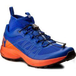 Buty SALOMON - Xa Enduro 392408 27 G0 Surf The Web/Flame/Black. Niebieskie buty sportowe męskie Salomon, z materiału. W wyprzedaży za 409.00 zł.