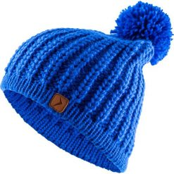 Czapka damska CAD615 - kobalt - Outhorn. Niebieskie czapki i kapelusze damskie Outhorn, ze splotem. Za 34.99 zł.