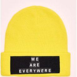 Czapka z naszywką Do It Yourself - Żółty. Żółte czapki i kapelusze męskie Cropp. Za 39.99 zł.