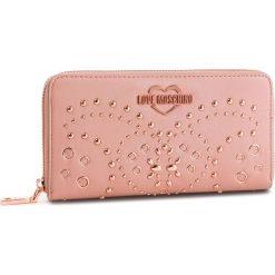 Duży Portfel Damski LOVE MOSCHINO - JC5606PP17LR0600 Rosa. Czerwone portfele damskie Love Moschino, ze skóry ekologicznej. Za 479.00 zł.