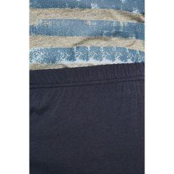Tom Tailor Denim - Piżama. Szare piżamy męskie Tom Tailor Denim, z nadrukiem, z bawełny. W wyprzedaży za 99.90 zł.