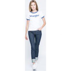 Wrangler - Jeansy. Niebieskie jeansy damskie Wrangler. W wyprzedaży za 199.90 zł.