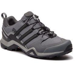 Buty adidas - Terrex Swift R2 CM7487 Grethr/Cblack/Grefiv. Szare trekkingi męskie Adidas, z materiału. W wyprzedaży za 369.00 zł.