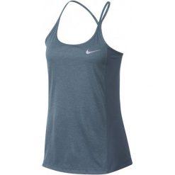 Nike Koszulka Do Biegania W Nk Dry Miler Tank Xl. Szare koszulki sportowe damskie Nike, z materiału, na ramiączkach. W wyprzedaży za 85.00 zł.