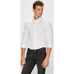 Guess Jeans - Koszula Sunset. Szare koszule męskie Guess Jeans, z bawełny, z klasycznym kołnierzykiem, z długim rękawem. W wyprzedaży za 239.90 zł.