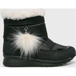 Trendyol - Śniegowce. Czarne śniegowce i trapery damskie Trendyol, z materiału. Za 139.90 zł.