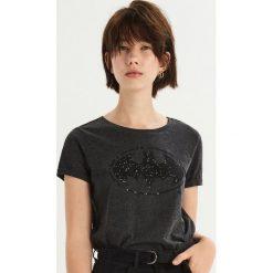 T-shirt Batman - Szary. Szare t-shirty damskie Sinsay, z motywem z bajki. Za 39.99 zł.