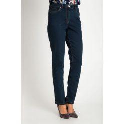 Proste spodnie jeansy z trójkątnymi kieszeniami QUIOSQUE. Szare jeansy damskie QUIOSQUE. Za 159.99 zł.