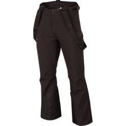 Spodnie narciarskie męskie SPMN251R - głęboka czerń. Spodnie snowboardowe męskie marki WED'ZE. Za 349.99 zł.