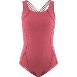Kostium kąpielowy bonprix jeżynowy. Fioletowe kostiumy jednoczęściowe damskie bonprix. Za 37.99 zł.