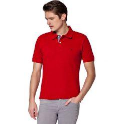 Koszulka Czerwona Polo Jack. Czerwone koszulki polo męskie LANCERTO, z bawełny, z krótkim rękawem. W wyprzedaży za 69.90 zł.