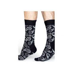 Skarpetki Happy Socks  PAI01-9000. Szare skarpety męskie Happy Socks, z bawełny. Za 24.43 zł.