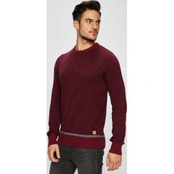Blend - Sweter. Brązowe swetry przez głowę męskie Blend, z bawełny, z okrągłym kołnierzem. W wyprzedaży za 129.90 zł.