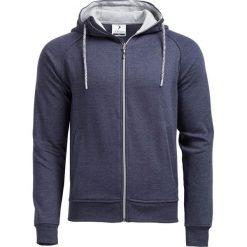 Bluza męska BLM601 - GRANATOWY MELANŻ - Outhorn. Niebieskie bluzy męskie Outhorn, na jesień, melanż, z materiału. W wyprzedaży za 62.99 zł.