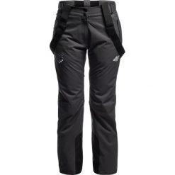 Spodnie narciarskie damskie Chorwacja Pyeongchang 2018 SPDN750 - grafit. Szare spodnie snowboardowe damskie 4f, z napisami, z dzianiny. W wyprzedaży za 699.95 zł.