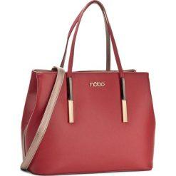 Torebka NOBO - NBAG-E0260-C005 Czerwony. Czerwone torebki do ręki damskie Nobo, ze skóry ekologicznej. W wyprzedaży za 159.00 zł.