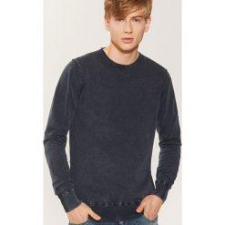 Sweter - Granatowy. Niebieskie swetry przez głowę męskie House. Za 89.99 zł.