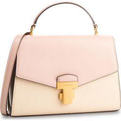 Torebka TORY BURCH - Juliette Color Block 51026 Shell Pink/New Cream/Wild Mushroom 671. Brązowe torebki do ręki damskie Tory Burch, ze skóry. Za 1,959.00 zł.