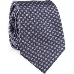 KRAWAT KWSR001889. Szare krawaty i muchy Giacomo Conti, w kwiaty, z mikrofibry. Za 69.00 zł.
