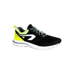 Buty do biegania Run ACTIVE męskie. Czarne buty sportowe męskie KALENJI, z gumy. Za 99.99 zł.