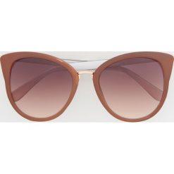 Okulary przeciwsłoneczne - Różowy. Czerwone okulary przeciwsłoneczne damskie Reserved. Za 39.99 zł.