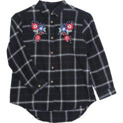 Czarna Koszula Blinding Light. Czarne bluzki dla dziewczynek Born2be. Za 54.99 zł.