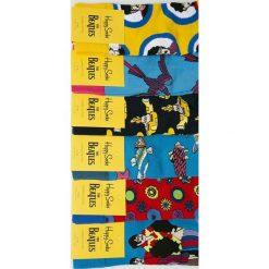 Happy Socks - Skarpety (6-Pack). Białe skarpety męskie Happy Socks, z bawełny. Za 249.90 zł.