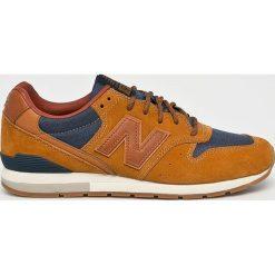 New Balance - Buty MRL996MR. Brązowe buty sportowe męskie New Balance, z materiału. Za 449.90 zł.