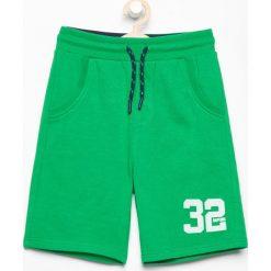 Krótkie spodenki dresowe - Zielony. Spodenki dla dziewczynek marki Reserved. W wyprzedaży za 29.99 zł.