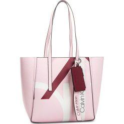 Torebka CALVIN KLEIN - Ck Base Medium Shopper Print K60K604667 629. Czerwone torebki shopper damskie Calvin Klein, ze skóry ekologicznej. Za 649.00 zł.