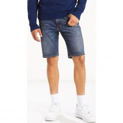 """Dżinsowe szorty """"501®"""" - Hemmed fit - w kolorze niebieskim. Niebieskie szorty męskie Levi's, z aplikacjami, klasyczne. W wyprzedaży za 108.95 zł."""