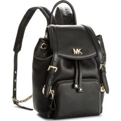 Plecak MICHAEL MICHAEL KORS - Beacon 30S8GOXB1L  Black. Czarne plecaki damskie MICHAEL Michael Kors, ze skóry, eleganckie. W wyprzedaży za 899.00 zł.