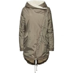 Płaszcz bonprix jasnooliwkowy. Płaszcze damskie marki FOUGANZA. Za 239.99 zł.