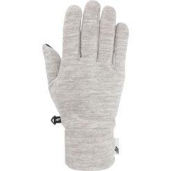Rękawiczki polarowe uniseks REU302 - średni szary melanż. Rękawiczki damskie marki B'TWIN. Za 34.99 zł.