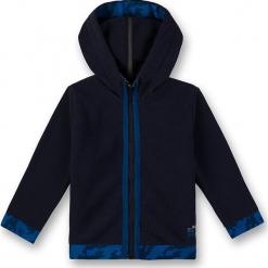 Kurtka polarowa w kolorze granatowym. Niebieskie kurtki i płaszcze dla chłopców marki Eat ants, z polaru. W wyprzedaży za 92.95 zł.