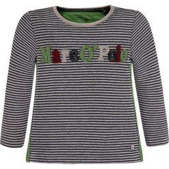 Koszulka w kolorze szaro-granatowym. T-shirty dla chłopców marki Reserved. W wyprzedaży za 72.95 zł.