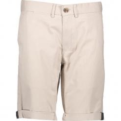 Spodnie chino - Slim fit - w kolorze beżowym. Brązowe szorty męskie Ben Sherman, z aplikacjami, z materiału. W wyprzedaży za 152.95 zł.