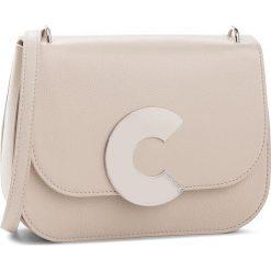 Torebka COCCINELLE - CN5 Craquante E1 CN5 12 01 01 Seashell N43. Brązowe listonoszki damskie Coccinelle, ze skóry. W wyprzedaży za 1,049.00 zł.